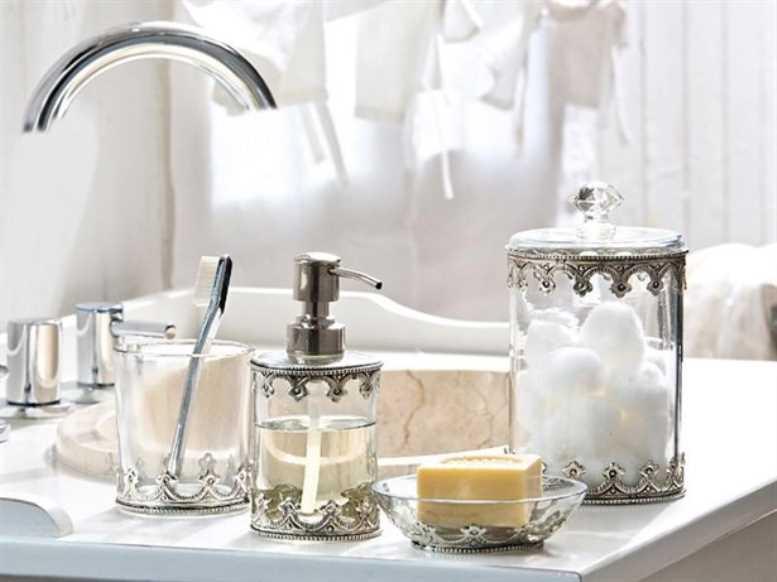красивые принадлежности для ванны комнаты работы термобелья